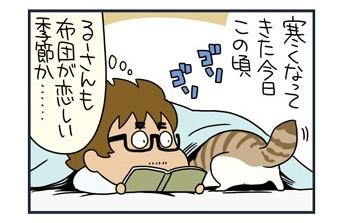 ノルウェージャン、飼い主の尻を攻撃す【猫漫画傑作選】